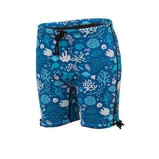 6604 OB Conni Kids Swim Short Blue Ocean Screen 2 2