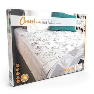CKCD 100100 25 1 Conni Bed Pad Pack Kids TUCK A